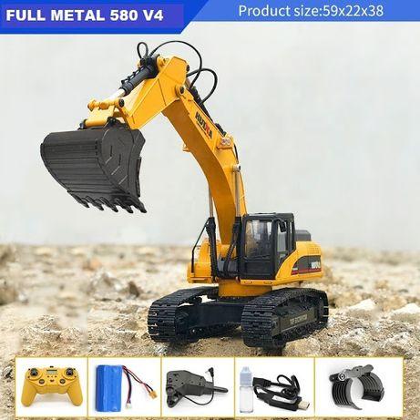 Huina 1580 - RC Escavadora Versão 4 em Metal (Promoção)