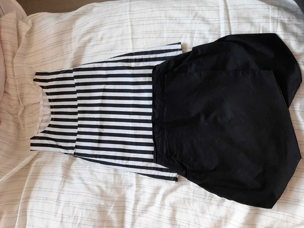 Komplet BLUZka spodnicospodnie