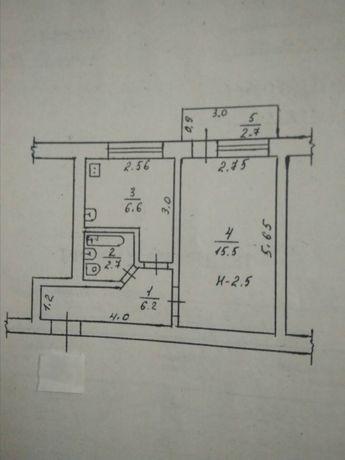 Продажа или обмен 1-нокомнатной квартиры в Днепрорудном