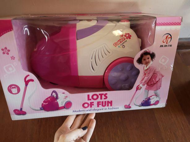 Odkurzacz dla dzieci Różowy Odkurzacz dla dziewczynki