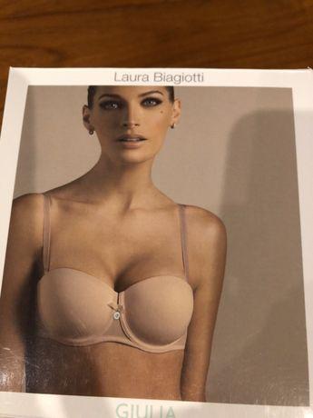 Dwa biustonosze Laura Biagiotti