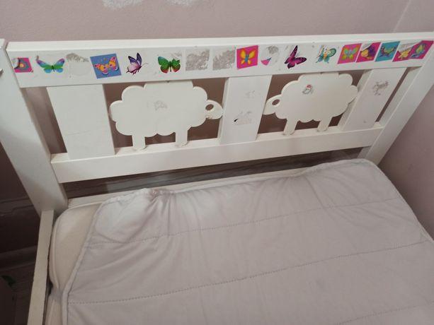 Oddam dwa łóżka ikea kritter