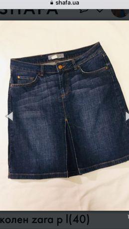 РАСПРОДАЖА! Юбка джинсовая ZARA раз L (40)