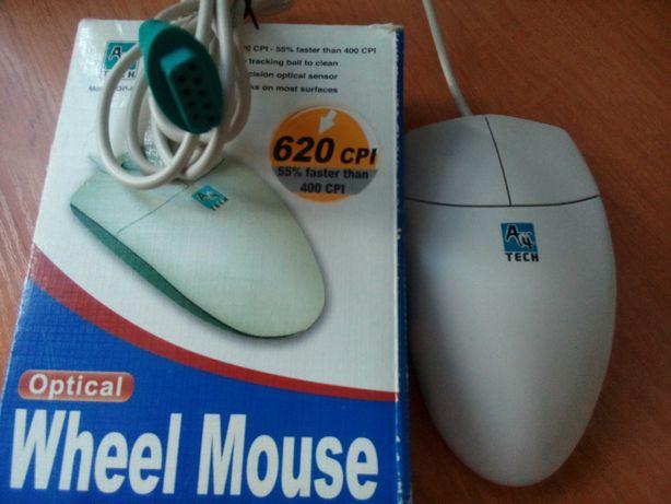 Продам РЕТРО шариковую мышь A4tech   RS-232 (com-port)-новая. См. фото