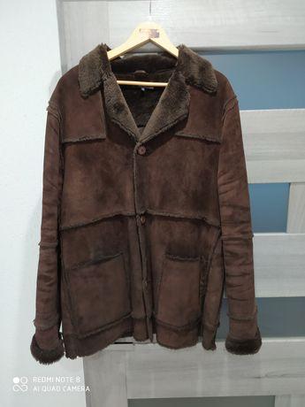 Куртка дублянка натуральна 54-56 розмір