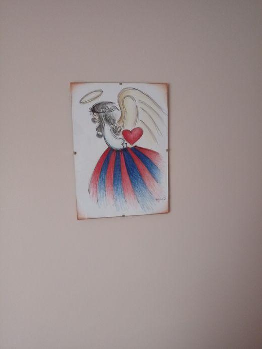 Aniołek świętokrzyski - obraz , pamiątka , prezent Kielce - image 1