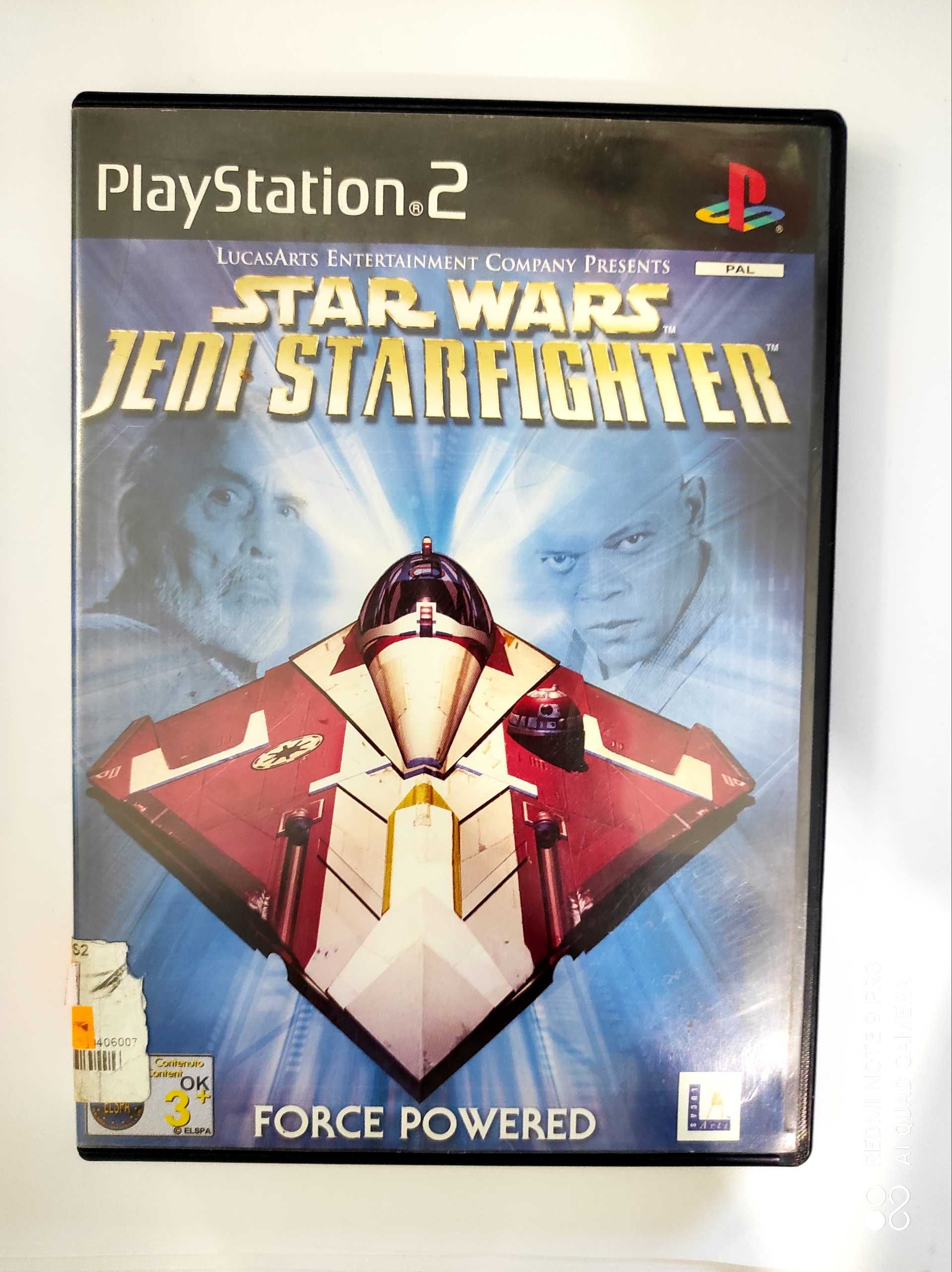Star wars jedi Starfighter ps2