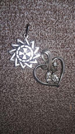 Кулоны серебро