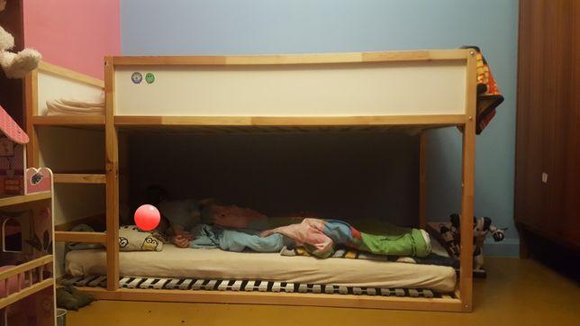 Piętrowe łóżko. Z Namiotem w bardzo dobrym stanie
