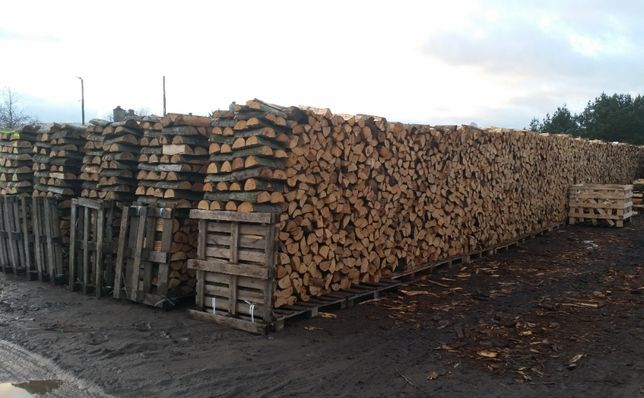 Drewno kominkowe BRZOZA, DĄB - transport gratis