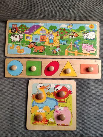 Zabawki drewniane edukacyjne /2