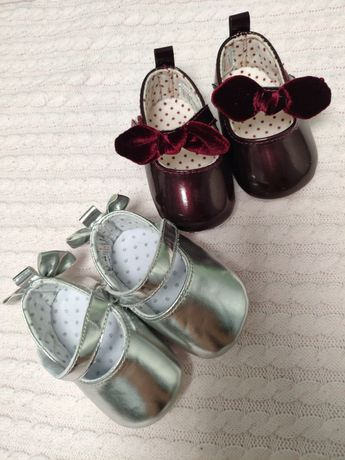 Пинетки-туфельки на малышку