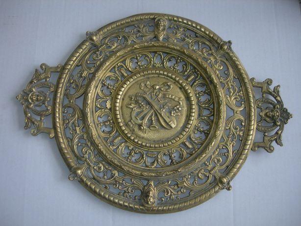 Панно, рельеф, бронза, Ангелы, Франция, 2,6 кг