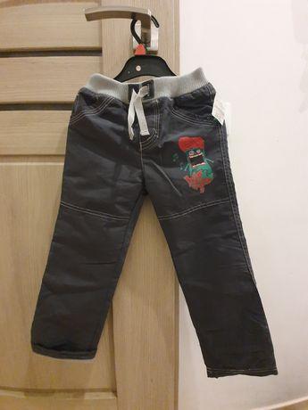 Nowe spodnie ocieplane