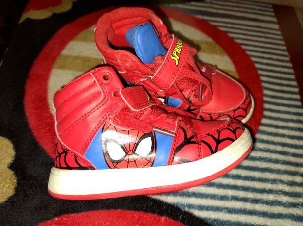 Buciki Spiderman