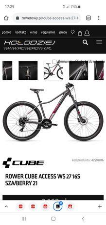 Skradziono rower damski mtb Cube Access