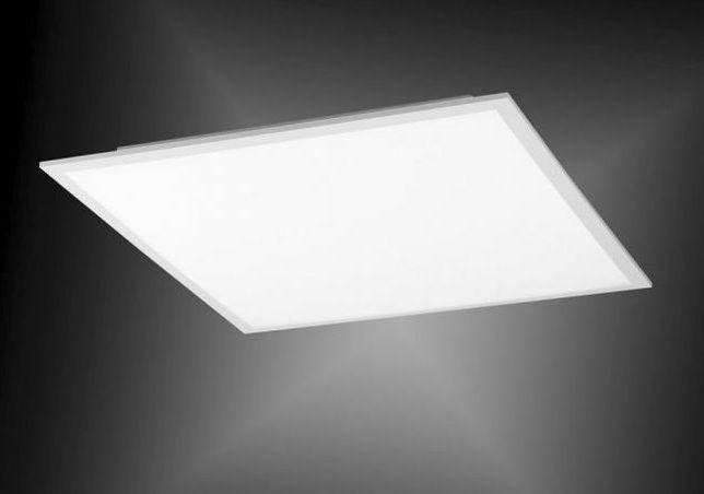 Biały plafon LED FLAT 62x62 barwa neutralna Leuchten Direkt 4100l