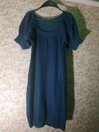 плаття-туніка вязана