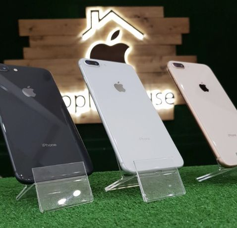 Магазин iPhone 8 + Plus 64 256 space gold silver Neverlock Гарантия