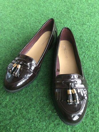 Лоферы, туфли, мокасины 39-40 р.р.