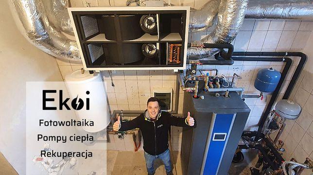 Pompa Ciepła - Fotowoltaika - Rekuperacja - Czyste Powietrze do 37 tys