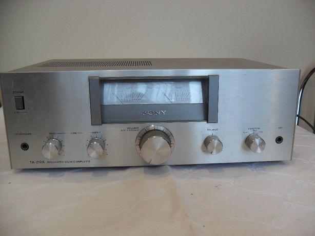 Wzmacniacz amplituner SONY TA-212A 100% sprawny srebrny