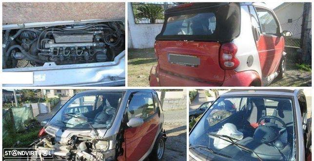 Smart Cabrio FourTwo Cabrio 0.8 CDI para peças (Plásticos exteriores Vendidos)