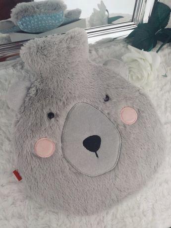 Termofor Home&you Miś pluszowy szary futerko Bear śliczny uszy misia