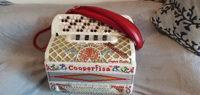 Do sprzedania akordeon guzikowy COOPERFISA Super Ballo