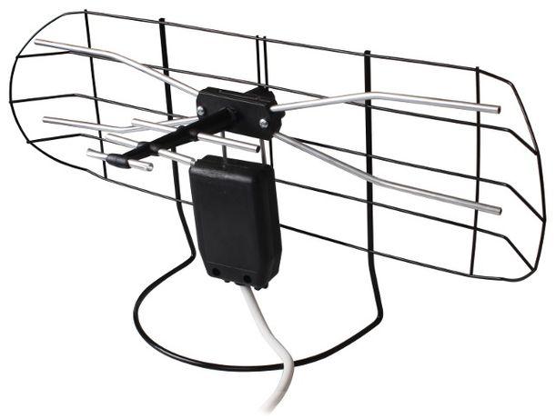 Antena Pokojowa mocna DVBT + Kabel + wzmacniacz