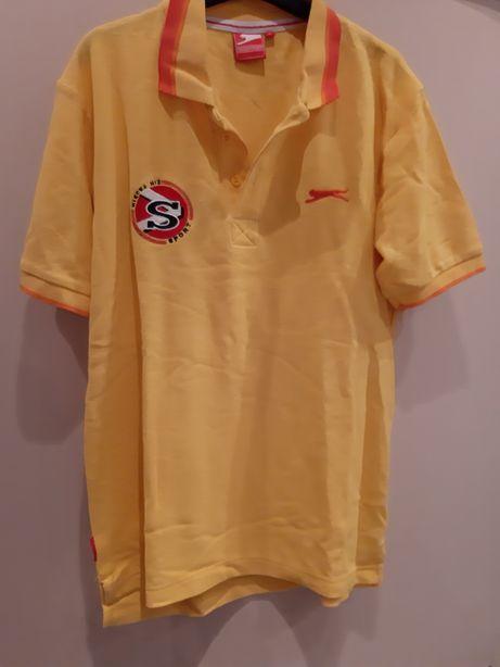 Koszulka t-shirt tshirt Slazenger więcej niż sport polo styl lacosta