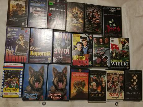 Flimy VHS Sami swoi Przygody psa cywilna Krzyżacy