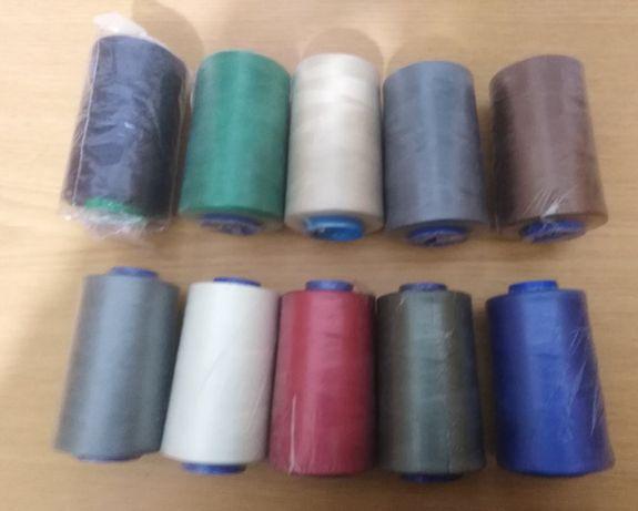 Cones de linha para costura