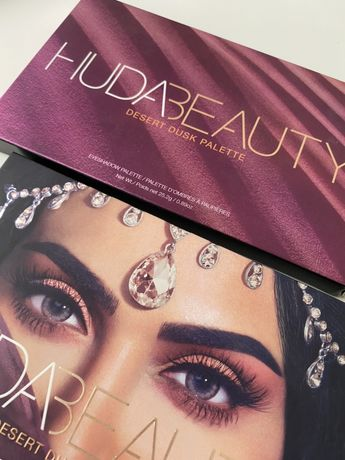 Тени для век Huda Beauty Desert Dusk палетка