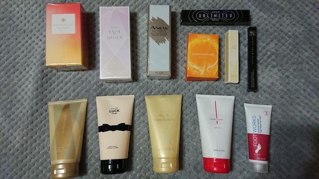 Kosmetyki Avon perfum,balsam,tusz,kretka,maska