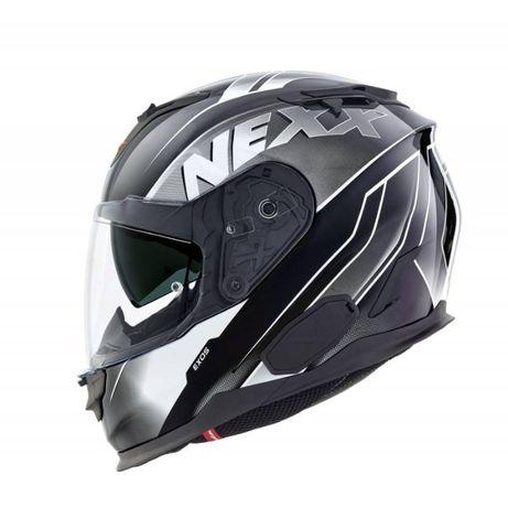 Kask NEXX X.T1 EXOS 'XL kolor biały/czerwony/szary