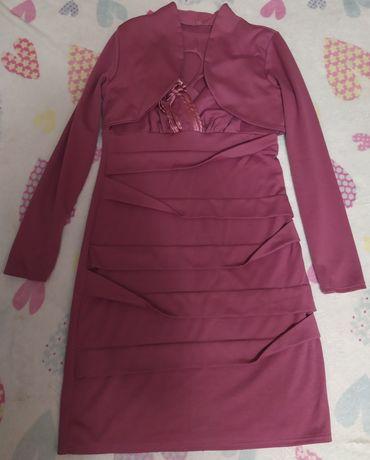 Платье с болеро 48 р.