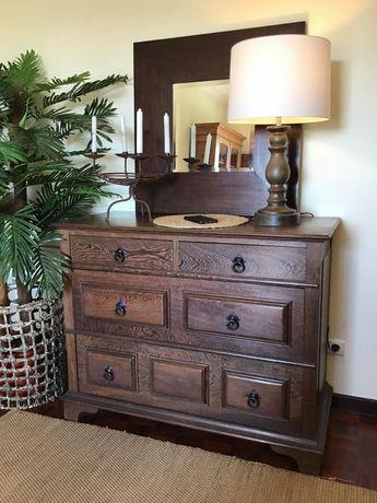 consola, aparador, comoda, apoio, rustico, vintage