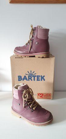 Bartek young - zimowe Trzewiki profilaktyczne ocieplane r. 28