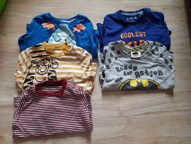 Koszulki dla chłopca 74
