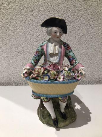 Miśnia Meissen XIX w. Figurka z porcelany
