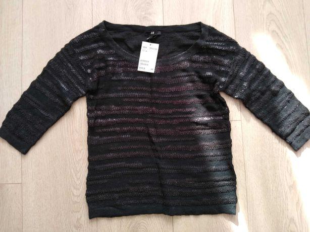 H&M xs/34 delikatny sweter nowy! %Sale%%Jesien 2021