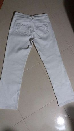 Jeans branco marca NYD