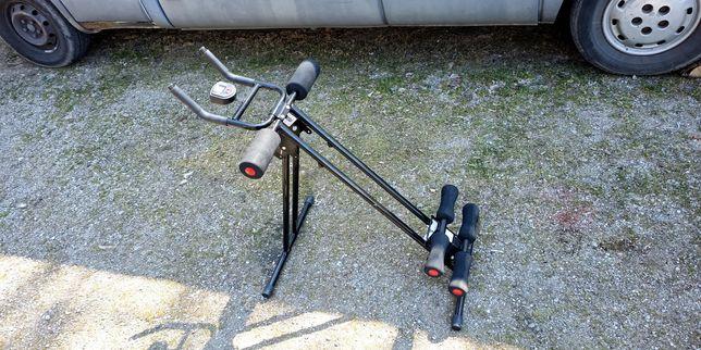Ławeczka do brzuszkow trezaner urządzenie do ćwiczeń