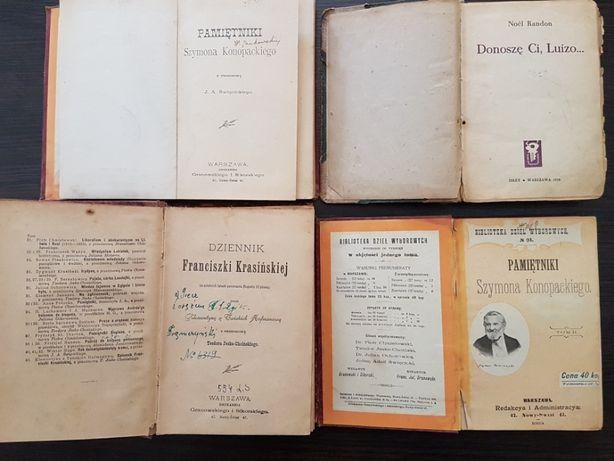 Stare książki - cztery szt.