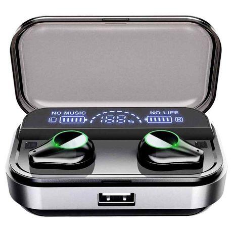 Słuchawki bezprzewodowe T10 Bluetooth Wodoodporne Powerbank Dotyk