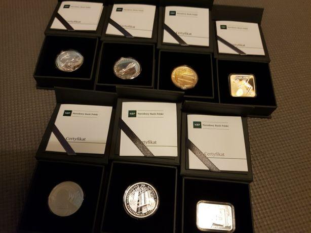 Srebrne monety 10-złotowe wydane w roku 2016