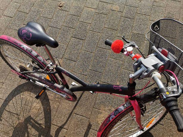 """Rower Btwin 24"""" dla dziewczynki"""