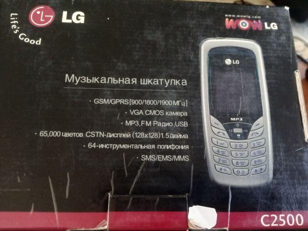 LG C2500 моб.телефон