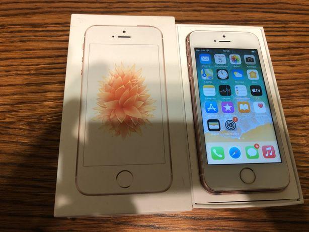 Продам iphone se 16gb rose gold neverlock